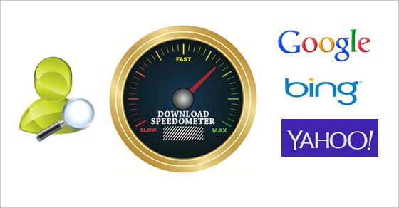 Download speedometer: humans vs. technology