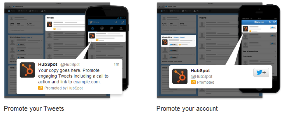 Promoted Tweets vs. Promoted Account