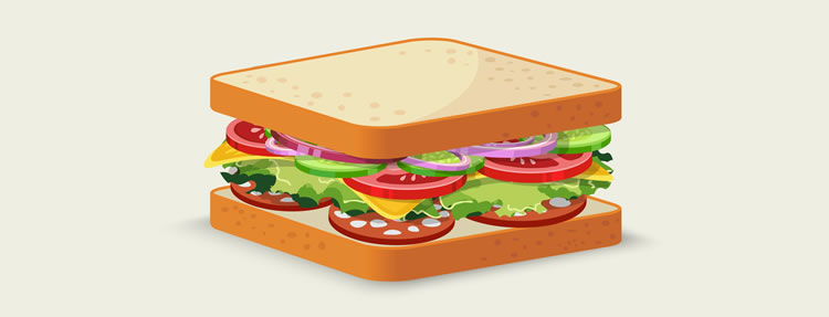The feeling that we get when we dig into it can be considered to be UX the ingredients that go into the sandwich UI=UX can be considered to be a part of the UI