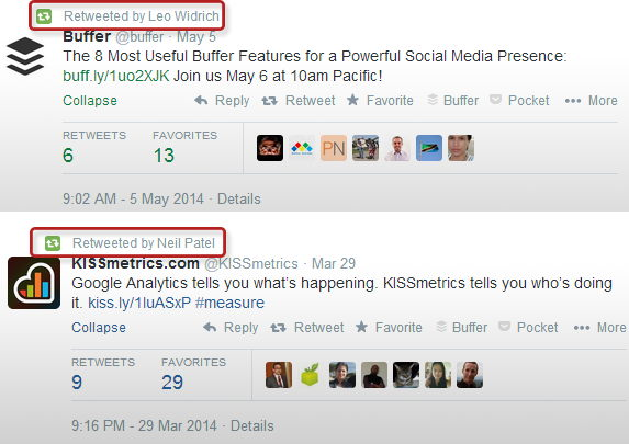 Cross Promotion Between Twiter Personal and Business Profile