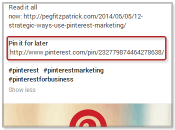 Cross Promotion with Google and Pinterest