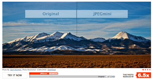 Image SEO: Optimize image file size using JPEGMini